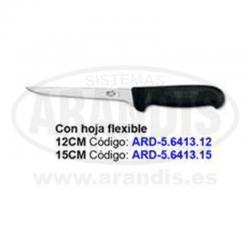 Cuchillo para deshuesar con hoja flexible