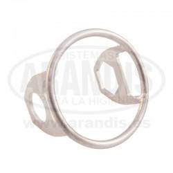 Protección acero inoxidable para llave de acero inoxidable